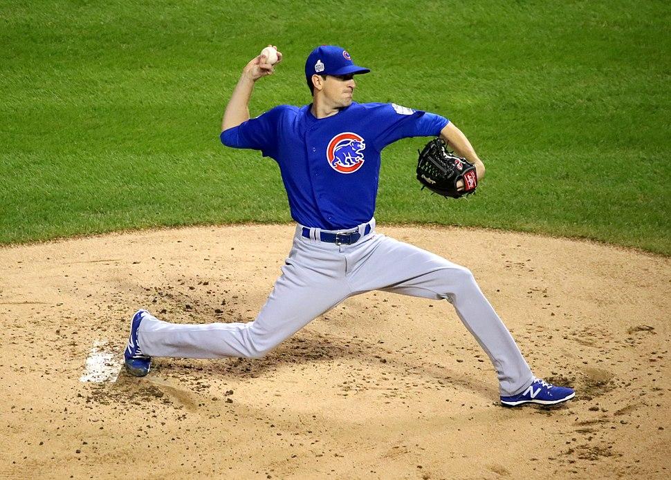 Kyle Hendricks first inning Game 7 2016 World Series