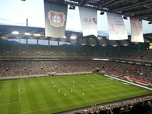 Seoul World Cup Stadium - Image: LG, Bayer 04 Korea Tour. vs FC Seoul, 30.july 2014