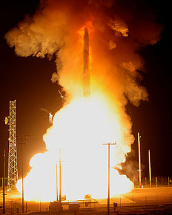 LGM-30G Minuteman III test launch