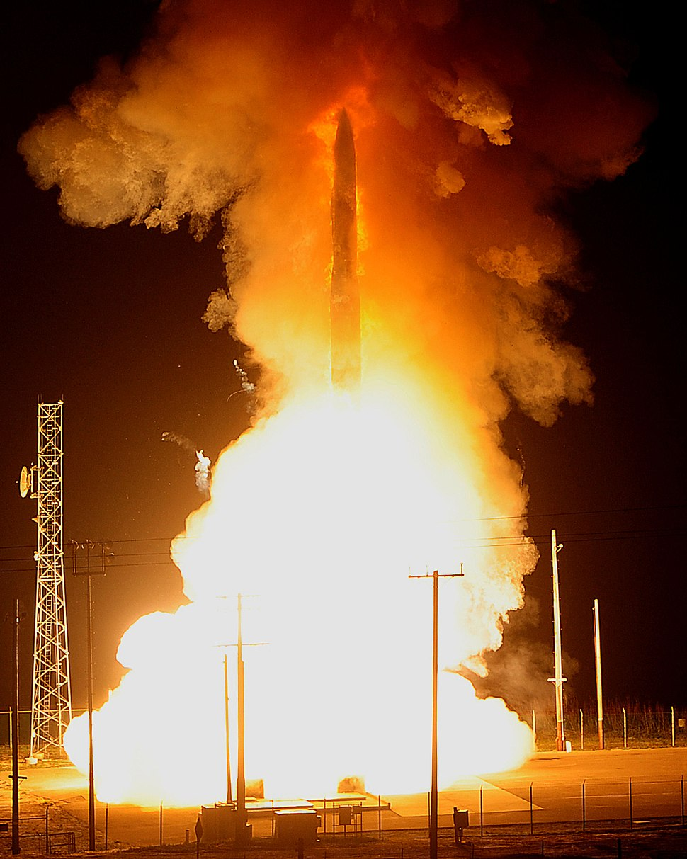 LGM-30G Minuteman III test launch