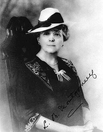 Lucy Maud Montgomery - L.M. Montgomery ca. 1935