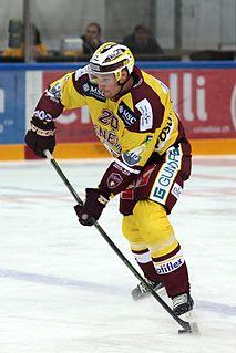 Johan Fransson Swedish ice hockey player