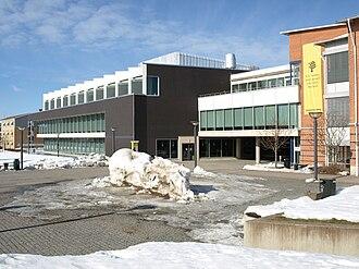 Linnaeus University - LNU's library in Växjö