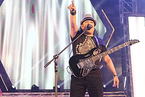 Love Runs Blind (LRB) - Ayub Bachchu, the lead vocal and guitarist of the band