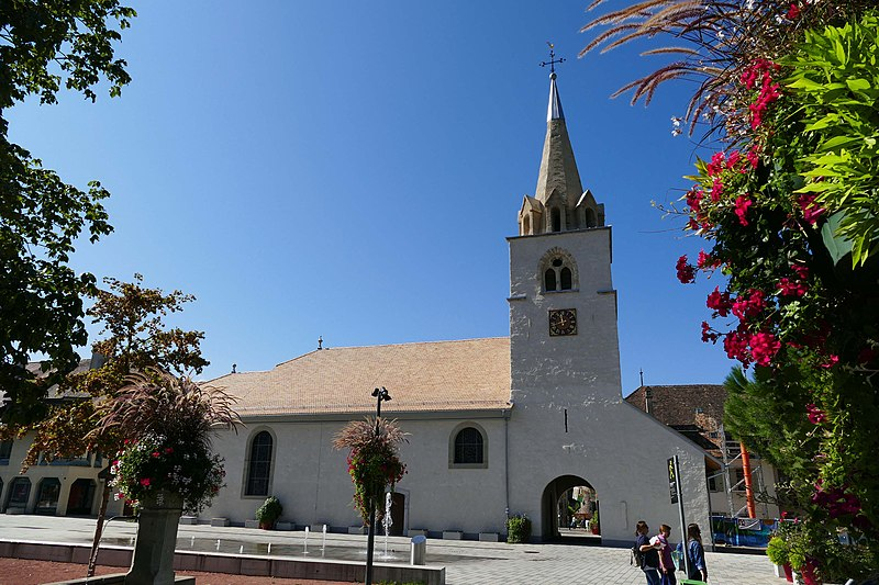 Saint-Maurice 18, La Tour-de-Peilz 1814, Switzerland..