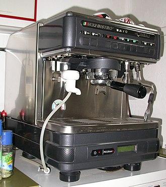 Cimbali - LaCimbali M32 Bistro espresso machine.