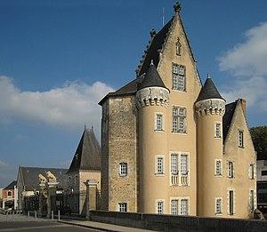 La Flèche - The town hall of La Flèche
