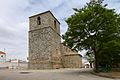 La Hinojosa, Iglesia parroquial, torre.jpg