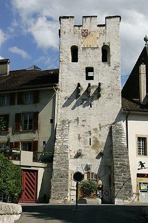 La Neuveville - Tour de Rive, Old City Gate