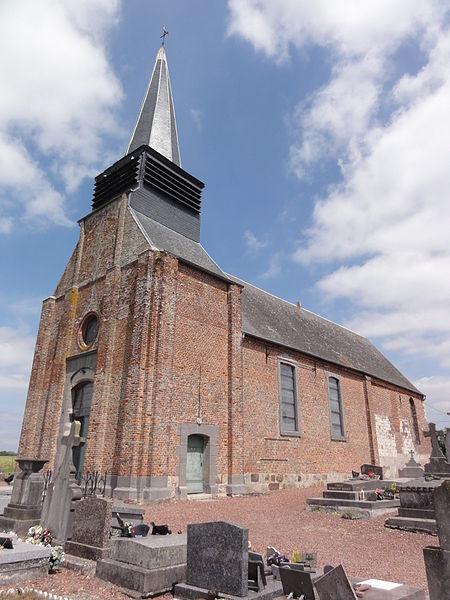 La Neuville-lès-Dorengt (Aisne) église