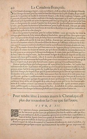 Filela Cavalerie Françoise Et Italienne Ou Lart De Bien