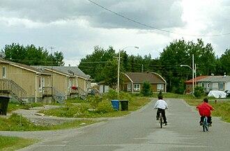 Lac-Simon, Abitibi-Témiscamingue, Quebec - Image: Lac Simon FN 2