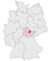 Lage des Landkreises Weimarer Land in Deutschland.png