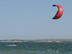 Lake McConaughy - Image: Lake Mc Conaughy Kite Surfing (800485270)