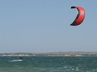 Lake McConaughy - Image: Lake Mc Conaughy Kite Surfing (800485270)