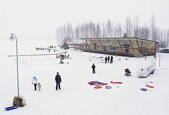 Kuopio Airport - Image: Lake Terminal Kuopio Airport 08