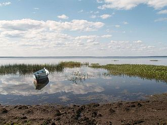Rostovsky District - Lake Nero, a protected area of Russia in Rostovsky District