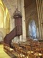 Lamballe (22) Collégiale Notre-Dame-de-Grance-Puissance - Intérieur - Chaire.jpg