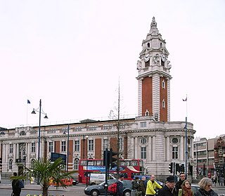 Brixton District in the London Borough of Lambeth in south London