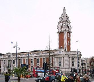 Lambeth London Borough Council - Image: Lambeth Town Hall