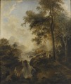 Landscape with a Waterfall and Cattle (Elias Martin) - Nationalmuseum - 18354.tif
