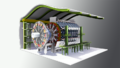 Large hadron collider's atlas detector.png
