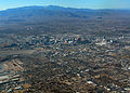 Las Vegas strip from the air (3191356789).jpg