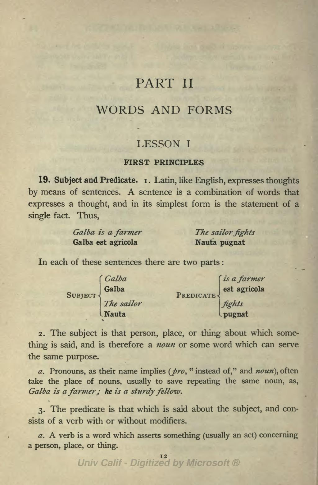 Latin for in the same place -