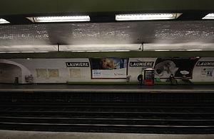 Laumière (Paris Métro) - Image: Laumiere 3