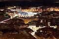 Lausanne (Le Flon) de nuit depuis la cathédrale.jpg