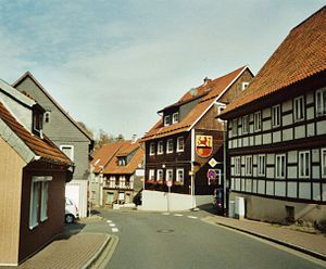 Lautenthal - High Street (Hahnenkleer Straße)