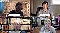 Lawrence Lindell, Trungles, Alex Hoffman, Kelsey Wroten at SPX 2020.jpg