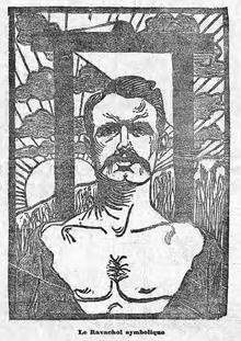 Retrato idealizado de Ravachol.