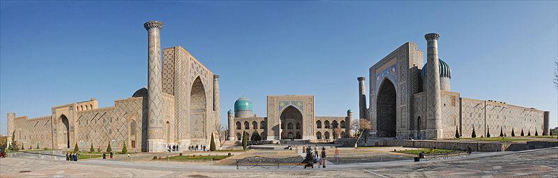 File:Le Registan à Samarcande (Ouzbékistan) (5630435838).jpg