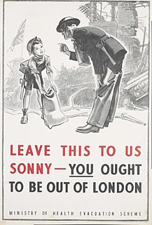 Evacuations of civilians in Britain during World War II