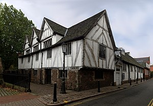Leicester - Leicester Guildhall, dating from the 14th century