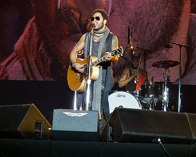 Kravitz performing in Madrid on June 30, 2012. Lenny Kravitz - Rock in Rio Madrid 2012 - 29 (cropped).jpg