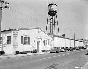 Warner Bros. Cartoons - Leon Schlesinger Productions studio, part of the Old Warner Brothers Studio, Los Angeles, California