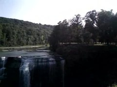File:Letchworth State Park, NY - Genesee River, Middle Falls.ogv
