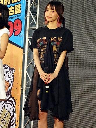 LiSA (Japanese musician, born 1987) - Image: Li SA on PF28 stage 20180520b