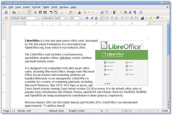 Pin Writer-libre-office on Pinterest