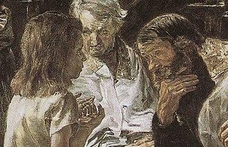 Max Liebermann - Image: Liebermann Jesus 1879 det
