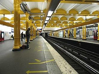 Gare de Lyon (Paris Métro) - Image: Ligne 1 Gare de Lyon 1