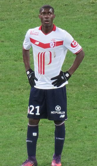 Yves Bissouma - Bissouma playing for Lille in 2016