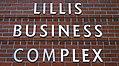 Lillis Business Complex Sign (38528770261).jpg