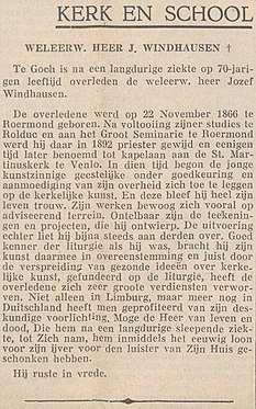 Limburgsch Dagblad vol 019 no 129 Weleerw. heer J. Windhausen †.jpg