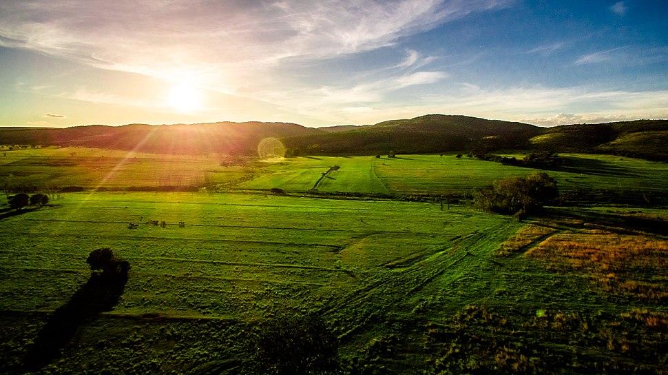 Limpopo Mountain Sundown