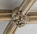 Lincoln Cathedral Consistory Court roof Boss, North east (39362223625).jpg