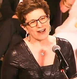 Lisa Kron - Lisa Kron hosting the Sixth Annual Lilly Awards in 2015