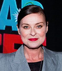 Lisa Stansfield (born 11 April 1966) is an English singer-songwriter and actress, at Sommarkrysset on Gröna Lund, Stockholm, 21 June 2014, 21:25:59
